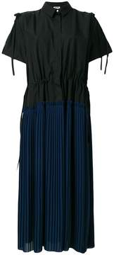 Kenzo pleated shirt dress