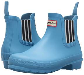 Hunter Garden Stripe Chelsea Boots Women's Rain Boots