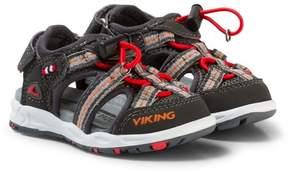 Viking Sandaler, Thrill, Charcoal/Red