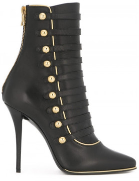 Balmain 'Alienor' lace-up ankle boots