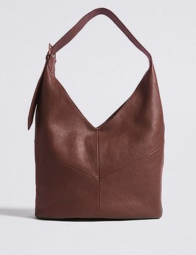 Marks and Spencer Leather Sling Hobo Bag
