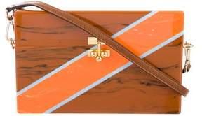 Edie Parker Large Trunk Diagonal Bag