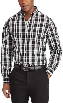 Chaps Big & Tall Classic-Fit Button-Down Shirt