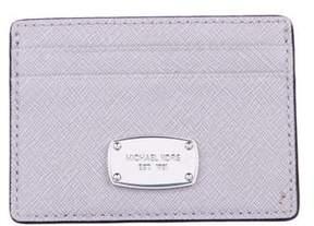 Michael Kors Leather Square Cardholder