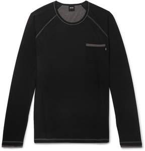HUGO BOSS Stretch Cotton And Modal-Blend Pyjama T-Shirt