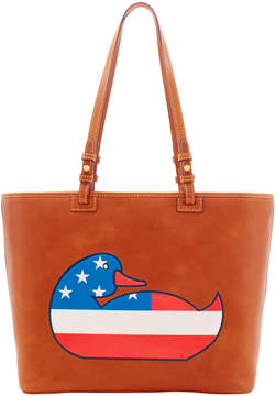 Dooney & Bourke Duck Florentine Patriotic Leisure Bag