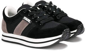 Karl Lagerfeld lace-up sneakers