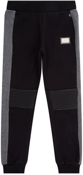 Philipp Plein Ribbed Patch Sweatpants