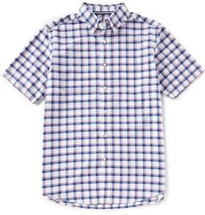 Daniel Cremieux Big & Tall Exploded Graph Short-Sleeve Woven Shirt