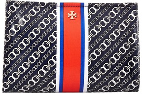 Tory Burch - Gemini Link Triangle Cosmetic Case Cosmetic Case