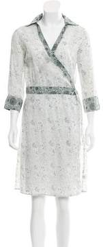 Calypso Floral Print Wrap Dress