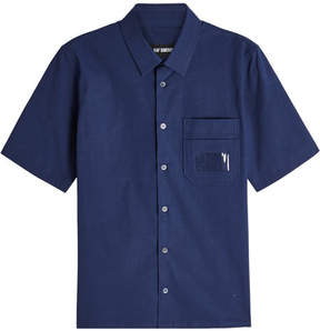 Raf Simons Short Sleeved Cotton Shirt