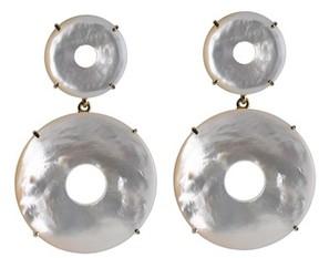 Asha Women's Elizabeth Mother-Of-Pearl Drop Earrings