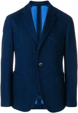 Cantarelli tailored check blazer