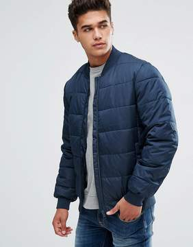 Kiomi Padded Jacket In Navy