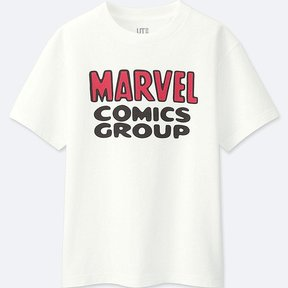 Uniqlo Boy's Marvel Collection Short-sleeve Graphic T-Shirt