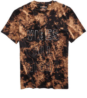 GUESS Men's Vibes All Night V Neck T Shirt