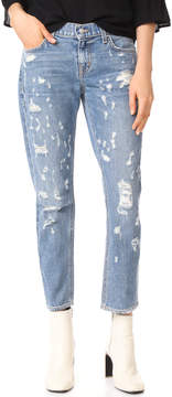 Derek Lam 10 Crosby Mila Boyfriend Distressed Jeans