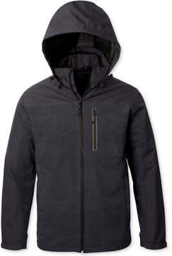 Hawke & Co Men's 3-in-1 Colorblocked Hooded Raincoat