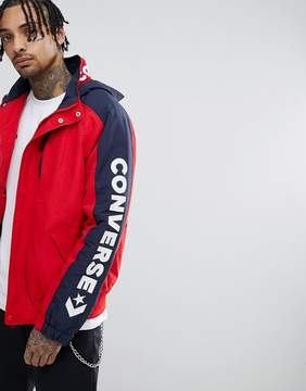 Converse Boat Jacket In Red 10005863-A01