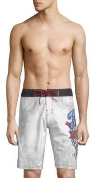 Affliction Graphic Board Shorts