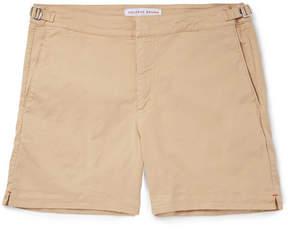 Orlebar Brown Bulldog Slim-Fit Stretch-Cotton Twill Shorts