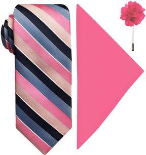Jf J.Ferrar Stripe Tie Set