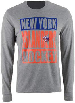'47 Men's New York Islanders Stacked Club Long Sleeve T-Shirt