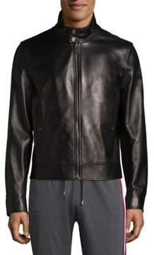 Bally Plain Leather Jacket