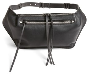 Rag & Bone Leather Belt Bag - Black