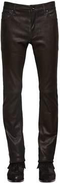 John Varvatos 17cm Skinny Stretch Nappa Leather Pants