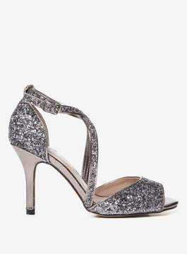 Dorothy Perkins Wide Fit Pewter 'Blair' Sandal