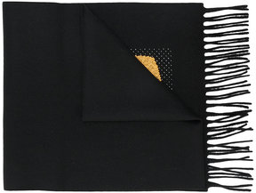 Fendi Bag Bugs patch padded scarf