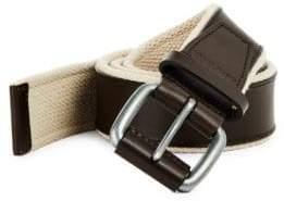 Cole Haan Webbing Leather Belt
