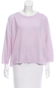 Amina Rubinacci Cashmere Three-Quarter Sleeve Sweater