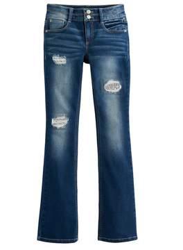 Mudd Girls 7-16 & Plus Size Destructed Bootcut Jeans