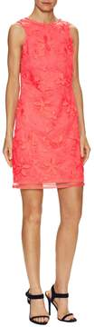 Donna Ricco Women's Embroidered Floral Dress