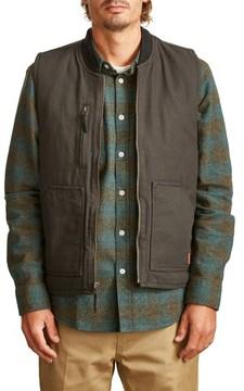 Brixton Men's Abraham Water Resistant Vest