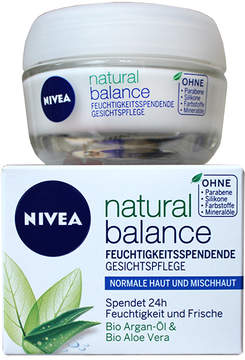 Nivea Natural Balance Tagespflege Normale Haut Day Cream by 50ml Cream)