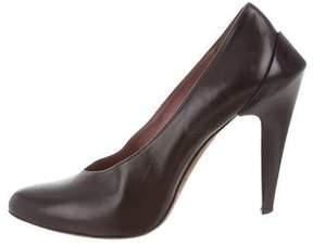 Derek Lam Leather Semi Pointed-Toe Pumps