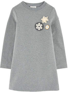 Moncler Fleece sweatshirt dress