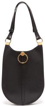 Marni Earring Leather Shoulder Bag - Womens - Black