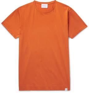 Norse Projects Esben Mercerised Cotton-Jersey T-Shirt