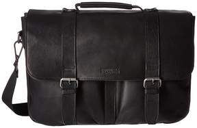 Kenneth Cole Reaction Flap Shot - Leather Portfolio Computer Bags