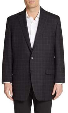 Lauren Ralph Lauren Regular-Fit Windowpane Check Wool Sportcoat