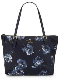 Kate Spade Classic Rose Tote - NIGHT ROSE - STYLE