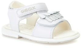 Geox Toddler Girl's Verred Kiltie Fringe Sandal