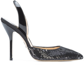 Paul Andrew sequined pumps