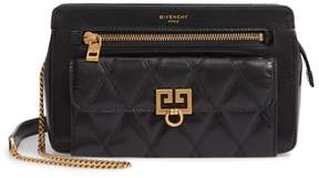 Givenchy Diamond Quilted Leather Crossbody Bag