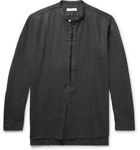 Nonnative Stranger Wool-Blend Flannel Shirt